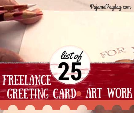 25 Freelance Greeting Card Art Jobs