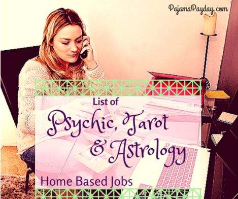 Psychic and Astrology Jobs